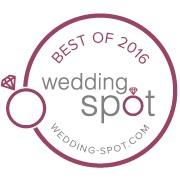 Best of 2016 Wedding Spot badge